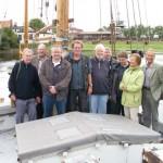 """Infotour """"Elbmarsch"""", Hafen Stöckte"""